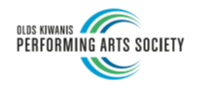 Olds Kiwanis Performing Arts Logo